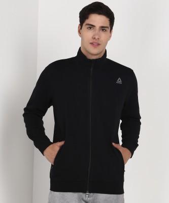 REEBOK Full Sleeve Solid Men Sweatshirt