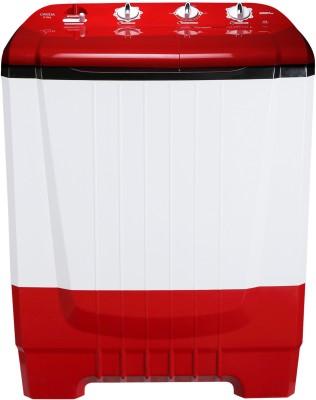 Onida 8 kg Auto Scrubber Semi Automatic Top Load Red  (S80ONR)
