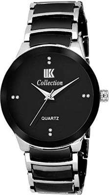 Amezing shop ROUNDGOLD BLACK SILVER DAIL ANALOGUE DIAL NEW ARRIVAL FAST SELLING TRACK DESIGNER UNIQUE WATCH FOR DIWALI_FESTIVAL_PARTY_PROFESSIONAL WATCH MEN SYLISH METAL BELT WATCH FOR MEN ANALOG SILVER BLAC Analog Watch  - For Men