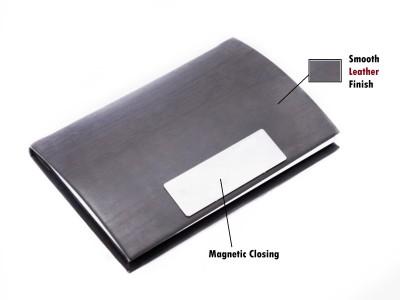 Definite Professional Leatherette 20 Card Holder(Set of 1, Multicolor)