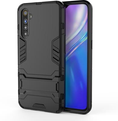 GadgetM Back Cover for Realme XT, Realme X2(Black, Camera Bump Protector)