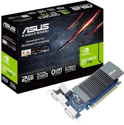 Asus NVIDIA Passive Cooling 2 GB GDDR5 Graphics Card