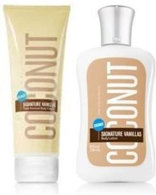 BATH & BODY WORKS Coconut Vanillas Body Lotion(240 ml)