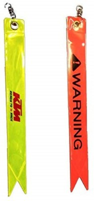 jocker Safety Warning Tag Safety Lock (Red, Yellow)for Bike Luggage Strap, Luggage Tag, Safety Lock (Yellow) Safety Lock(Multicolor)