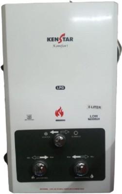Kenstar 6 L Instant Water Geyser (KOMFORT GAS GEYSER, White)