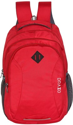 DRAZO 1004_SB Waterproof School Bag(Red, 25 L)