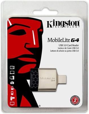 Kingston G4 (FCR-MLG4IN) Card Reader(Silver, Black)