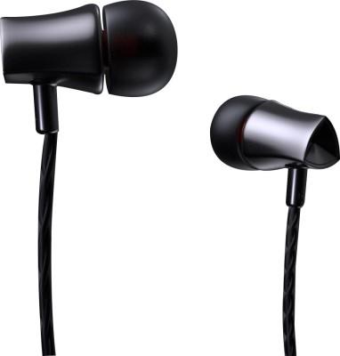 Debock E21 Bass Earphone Wired Headset(Grey, Wired in the ear)