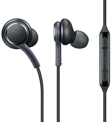 youshee tech A_K_G Earphone Wired Headset(Black, Wired in the ear)