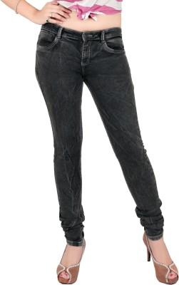 Fck 3 Slim Women Grey Jeans Fck 3 Women's Jeans