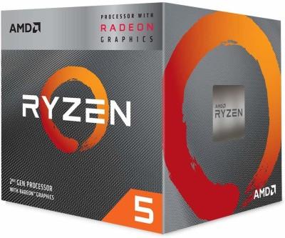 AMD Ryzen 5 3400G with Radeon RX Vega 11 Graphics & Wraith Spire Cooler (YD3400C5FHBOX) 3.7 Ghz Upto 4.2 GHz...