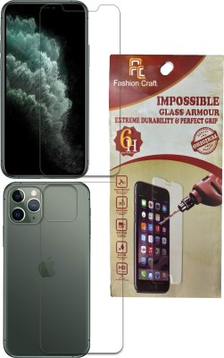 FashionCraft Front and Back Screen Guard for Apple Iphone 11 PRO(Pack of 2)