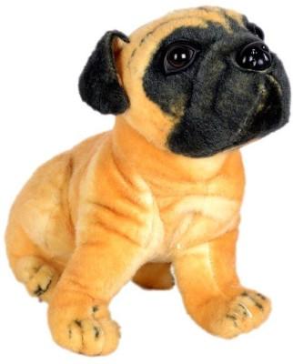 Tickles Pug Dog   32 cm Brown Tickles Soft Toys
