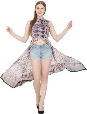SANGAI ITS RARE Casual Sleeveless Printed Women Multicolor Top