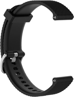 Hamee Silicone Buckle Watch band (2019) 46mm- Black 22 mm Silicone Buckle Watch band for Huawei GT 2 (2019) 46mm Watch Strap(Black)