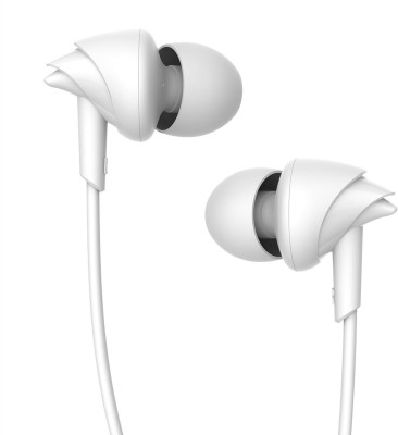 Boat Bassheads 110 T Wired Earphones With Mic (White)