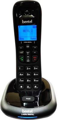 Beetel X91 2.4 Ghz Cordless Phone Cordless Landline Phone(Black)