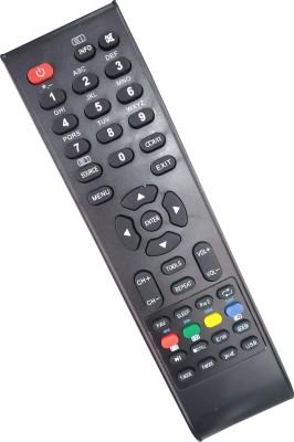 Axelleindia Remote LED/LCDTV Remote Micromax Remote Controller(Black)