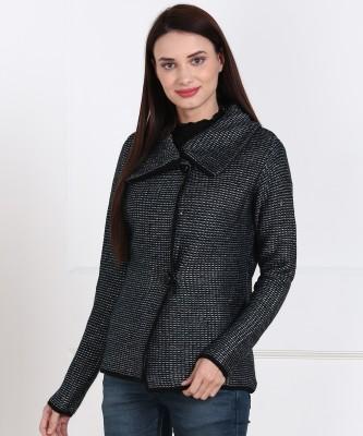 Park Avenue Women Button Woven Cardigan