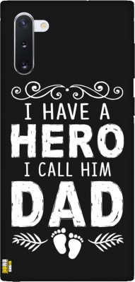 3BroCases Back Cover for I Have A Hero Call Him Dad Printed Case for Samsung Galaxy Note10(Multicolor)