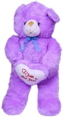 Ktkashish Toys Kashish Sweet Purple Teddy Bear   25 inch Purple Ktkashish Toys Soft Toys