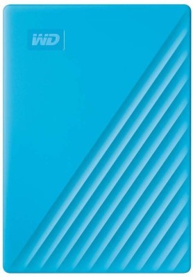 WD My Passport 2 TB External Hard Disk Drive(Blue, Black)