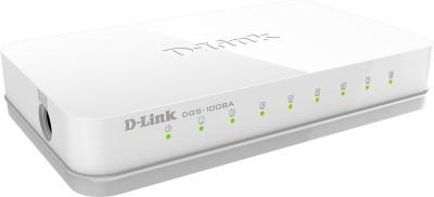 D Link 8 PORT EASY DESKTOP SWITCH Network Switch