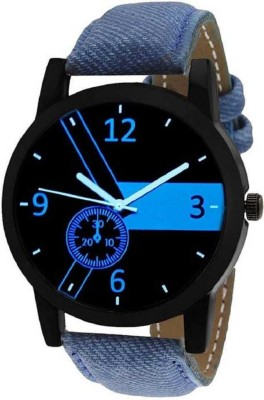 Lizzy New Letest Hot Premium Quality Leather Strap Analog Watch - For Men Analog Watch  - For Men