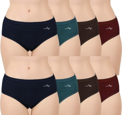 EverRich Women Hipster Multicolor Panty(Pack of 8)