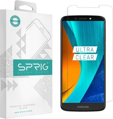 Sprig Tempered Glass Guard for Motorola Moto E6s (2020), Motorola Moto E6s, Motorola Moto E6 Plus(Pack of 1)
