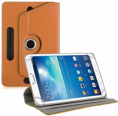 TGK Book Cover for Samsung Galaxy Tab 3 T310 Tablet 8 inch(Orange, Cases with Holder)
