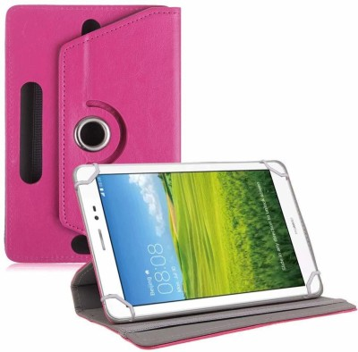 TGK Book Cover for Huawei Honor T1 S8-701U 8 inch Tablet(Pink, Cases with Holder)