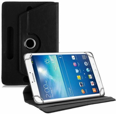 TGK Book Cover for Samsung Galaxy Tab 3 T310 Tablet 8 inch(Black, Cases with Holder)