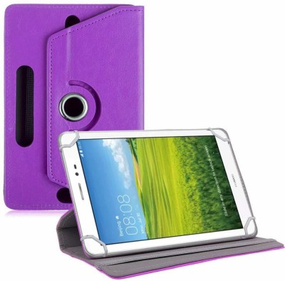 TGK Book Cover for Huawei Honor T1 S8-701U 8 inch Tablet(Purple, Cases with Holder)