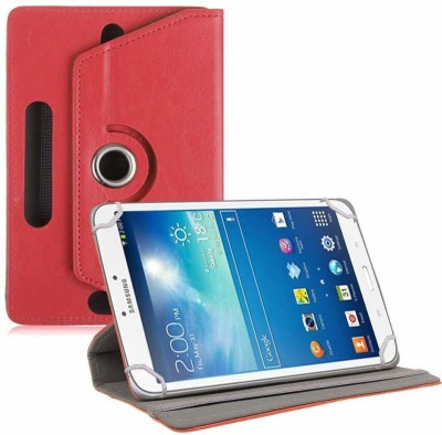 TGK Book Cover for Samsung Galaxy Tab 3 SM-T311 Tablet 8 inch(Red, Cases with Holder)