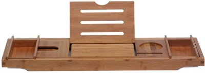 Di Grazia 8 Compartments WATERPROOF, STURDY AND BUILT TO LAST - This Unique Bathtub Caddy Is Made of the High Quality Bamboo Wood and covered with a thin protective coat of lacquer. It is the 100% natural eco-friendly bamboo construction, which means it naturally resists mold and mildew bathtub tray