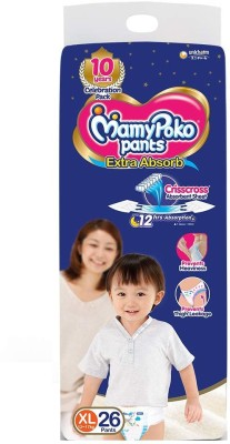 MamyPoko XL 26 Pants Diapers   XL
