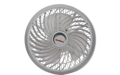 Khaitan Paloma Cabin 300 mm Energy Saving 3 Blade Wall Fan(White, Pack of 1)