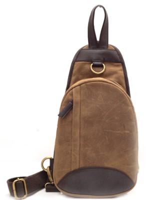 UD FOOTWEARS UDBAGS017 Small Travel Bag Brown