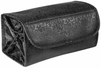 shreemax Roll N Go Cosmetic Bag Travel Toiletry Kit Black