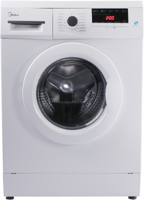Midea 7 kg Garment Sterilization Fully Automatic Front Load with In-built Heater White  (MWMFL070GBF)