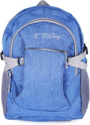 TT BAGS BackpackCL_008 20 L Backpack Blue TT BAGS Backpacks