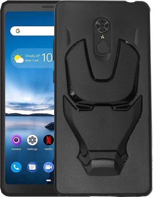 VAKIBO Back Cover for Lenovo Tab V7 6.9 inch(Black, 3D Case)