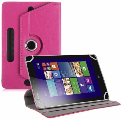 """TGK Book Cover for Lenovo IdeaTab Miix 2 8 """" Tablet(Pink, Cases with Holder)"""