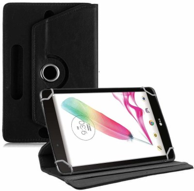 TGK Book Cover for LG G Pad F Tablet 8 inch Rotating Leather Stand Case(Black, Cases with Holder)