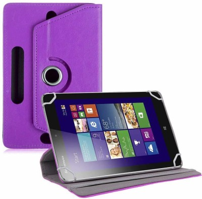 """TGK Book Cover for Lenovo IdeaTab Miix 2 8 """" Tablet(Purple, Cases with Holder)"""
