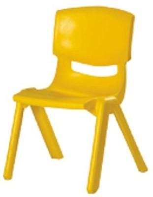 Maskeen Metal Chair(Finish Color - Orange)