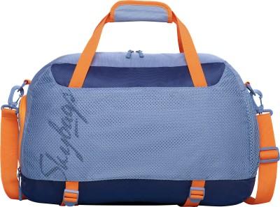 Skybags (Expandable) HYPE GYM BAG 01 GREY Gym Bag (Grey)
