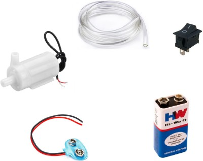 Creative Tech 9V DC Mini Water Pump Kit for Science Projects Electronic Components Electronic Hobby Kit