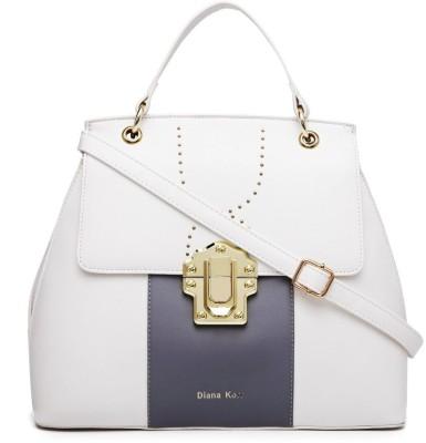 Diana Korr Women White Satchel Diana Korr Handbags